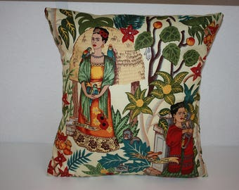 Frida Kahlo cushion Frida Kahlo style cushion Frida Kahlo Pillow Pillow Cushion