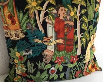 Frida Kahlo pillow Frida Kahlo style cushion Frida Kahlo Pillow Cushion Cushion