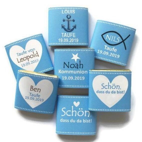 Gastgeschenk Taufe Gastgeschenk Kommunion Personalisiert Schokolade