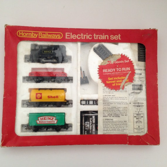 "HORNBY TRAIN SET /""NOT JUST FOR CHRISTMAS/""  METAL SIGN  2 SIZES TO CHOOSE GIFT"