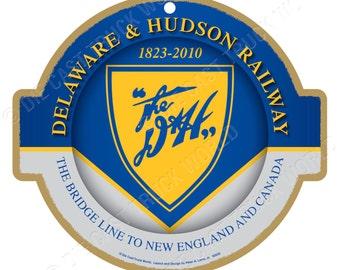 DH Delaware /& Hudson Railway Logo Vinyl Sticker