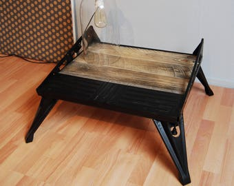 Industrial coffee / side table - SALE