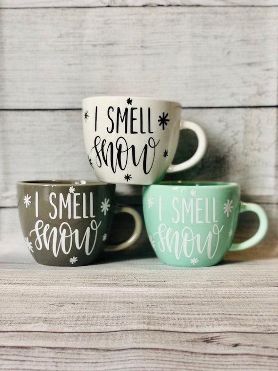 GREEN SHADE SPROUT Shape 3D MUG Coffee Tea Cup Novelty Tablewear Kitchen Decor L