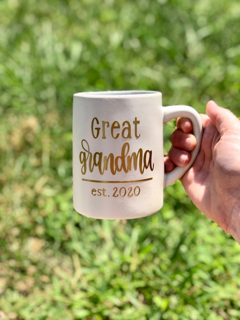 custom coffee mug coffee mug personalized great grandma