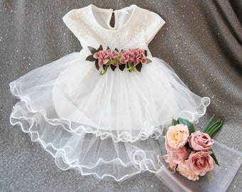 Baby wedding dress | Etsy