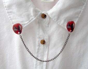 Deadpool - Collar Clips - Marvel