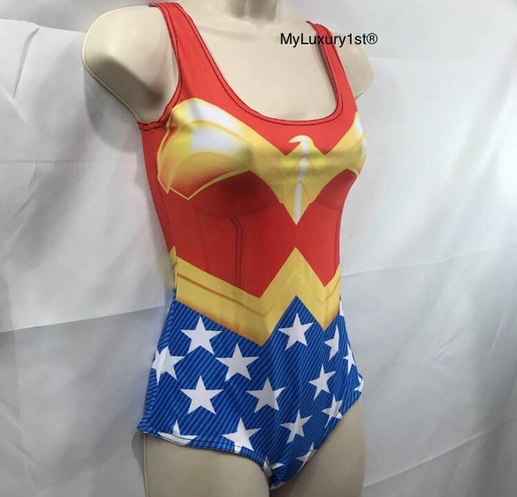83ca965c11273 Body Suit Size Small 4-6 Sexy Bodycon Bodysuit Wonder Woman