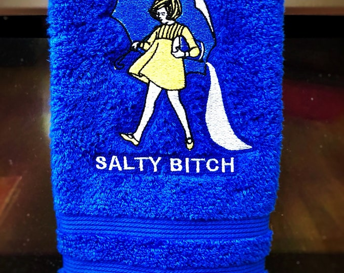 Salty B*tch Embroidered Towels