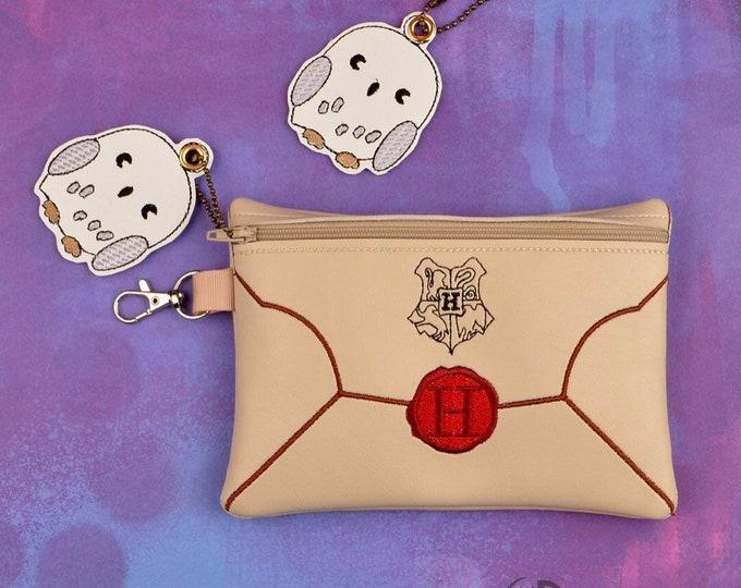HP Envelope Zippered Bag