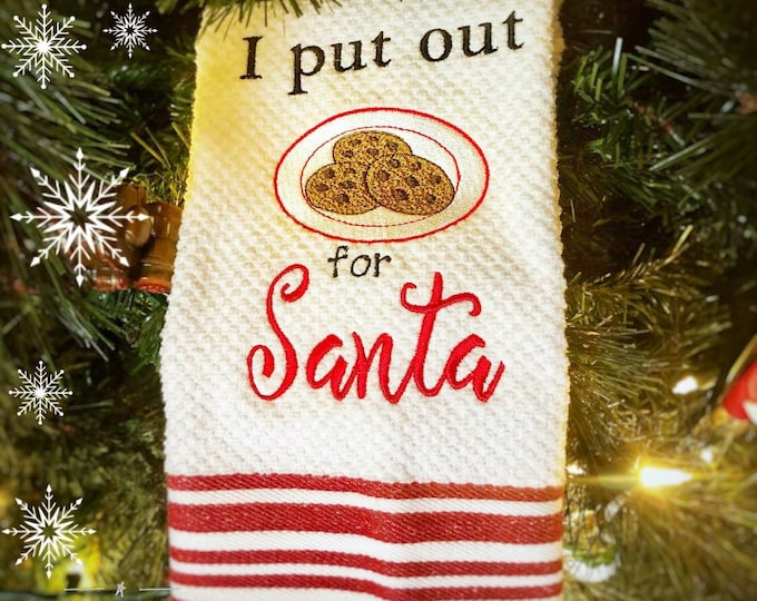 For Santa Kitchen Towel