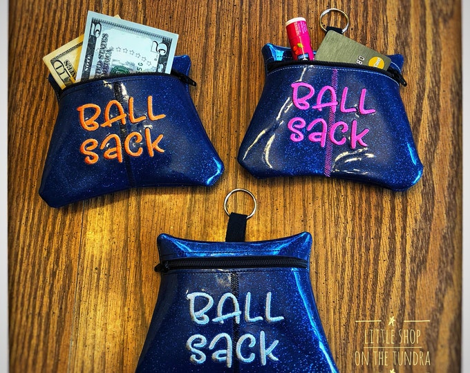 Ball Sack - Zippered Pouch