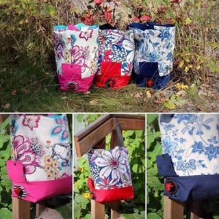 Always Leave Room for the Wine Tote PDF Pattern - Digital File