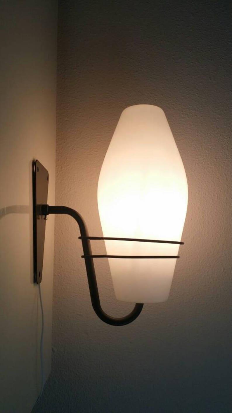 Lampe Vintage 70 Des Art 50 Murale Rétro Mid Hollande 60design Applique Philips Century Années dexCroB
