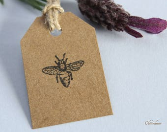 Bee Rubber Stamp. Weddings. DIY. UK Made
