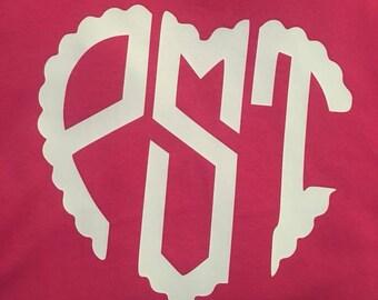 Heart Monogram Shirt