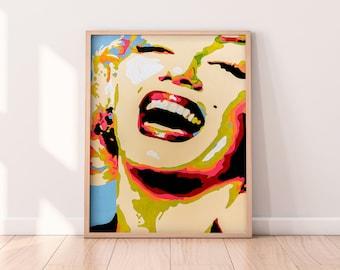 Marilyn Monroe Contemporary Fine-Art Poster Print