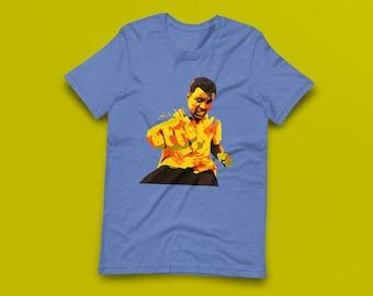 Muhammad Ali Contemporary Fine-Art Short-Sleeve Unisex T-Shirt