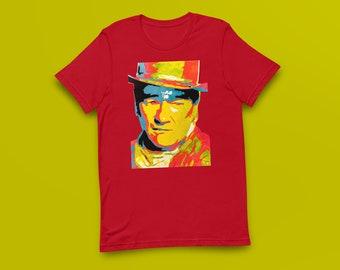 John Wayne Contemporary Fine-Art Short-Sleeve Unisex T-Shirt