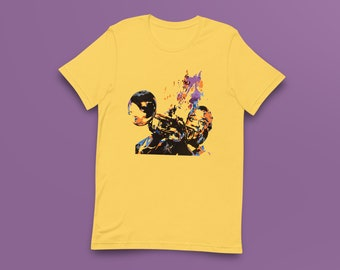 Louis Armstrong Contemporary Fine-Art Short-Sleeve Unisex T-Shirt