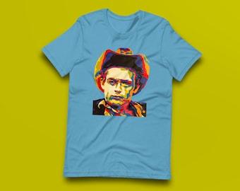 James Dean Contemporary Fine-Art Short-Sleeve Unisex T-Shirt