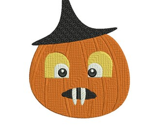 MR Pumpkin AND box Halloween Digital Embroidery Design, Halloween box Embroidery, Halloween Pumpkin box Embroidery for 5x7 2 DESIGNS