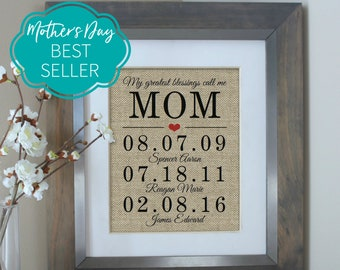Mothers Day Gift, Mothers Day Gift from Daughter, Mother of the Bride Gift, Birthday Gifts for Mom, Gift from Daughter, Mother Daughter Gift