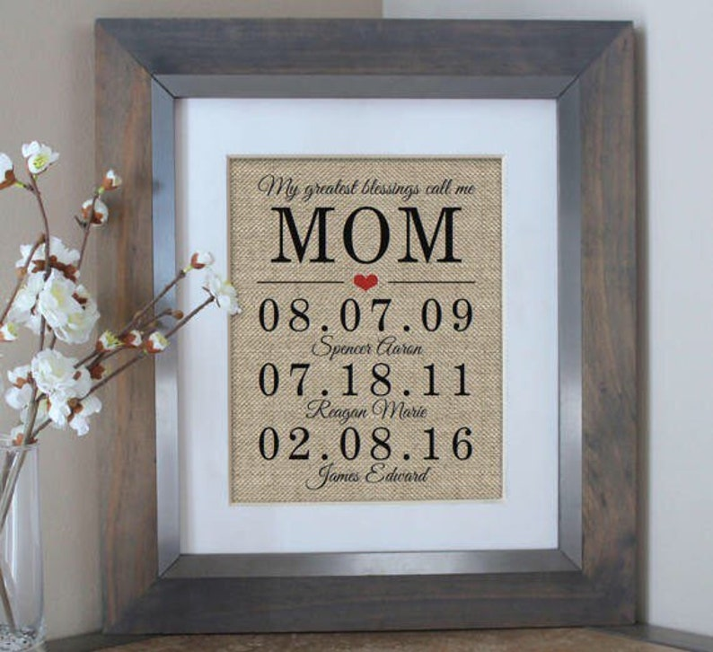 Unique Gift Ideas for Mom Mother of the Bride Gifts for Mom image 0