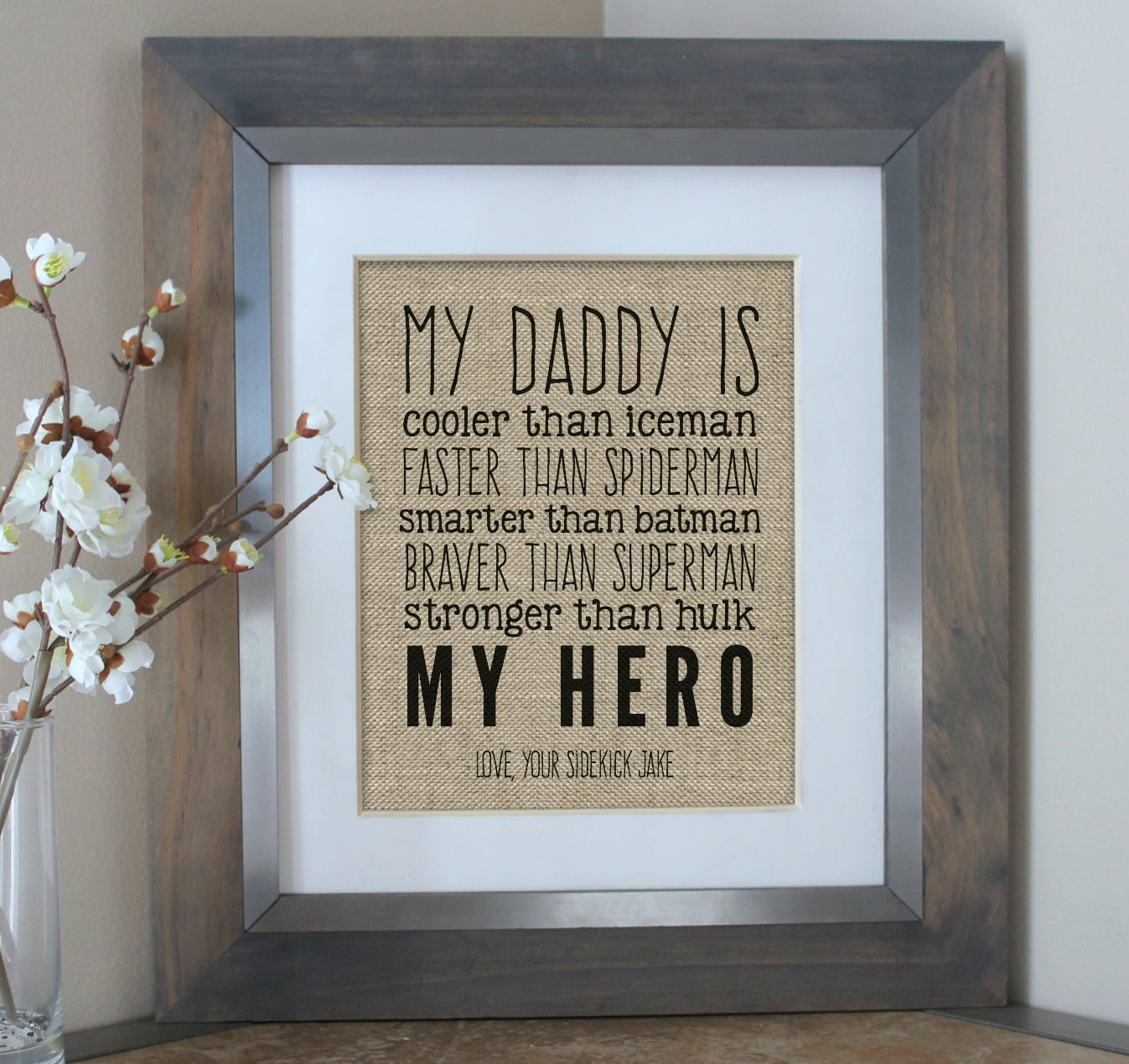 First Christmas Gift for Dad Christmas Gift from Son   Etsy