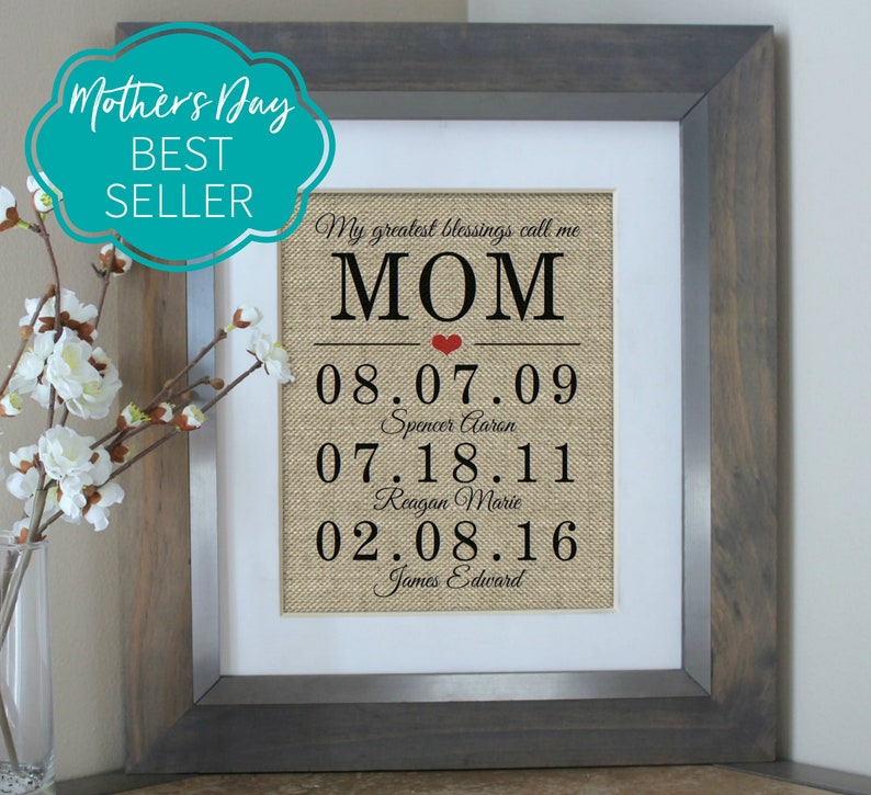 Unique Mothers Day Gift Ideas For 2019 Mother Of The Bride Etsy