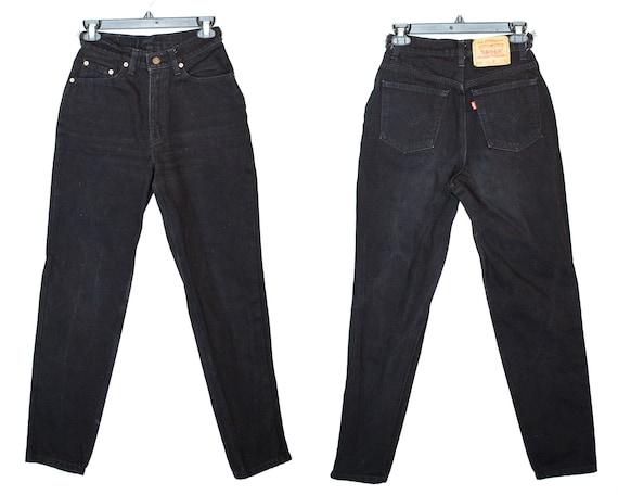 Vintage Size 27 512 Levis, 512 Levis, Black Levis,