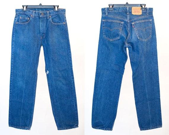 Size 33 505 Vintage Levis, 33x30 505, Levis, Vinta