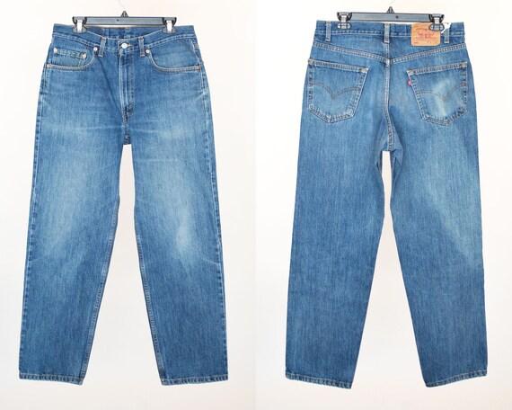 Size 34 550 Vintage Levis, 34x30 Levis,  Levis, Vi