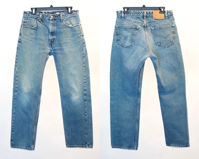 aae68c8ef9f Levis 505 Size 34 505 Levi Jeans 34x29 Vintage Levis 34 x | Etsy