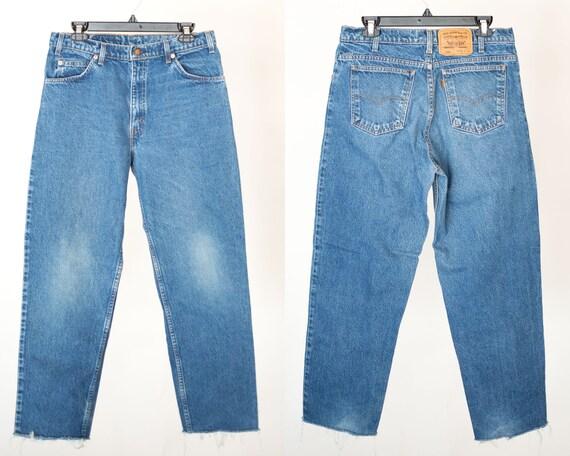 Size 33 550 Vintage Levis, 33x27 Levis,  Levis, Vi