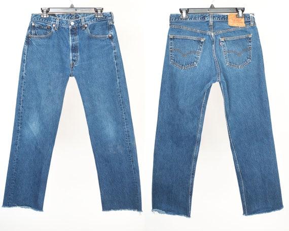 Size 32 501 Vintage Levis, 32x28 501 Levis, Waist