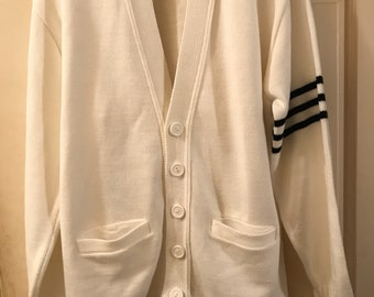 1970s white cardigan hipster clothes cute
