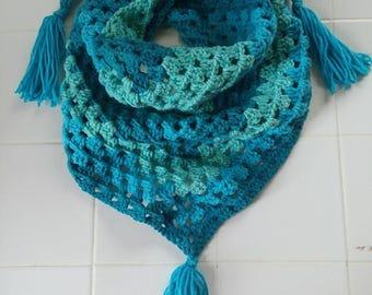 Triangle Scarf-Crochet