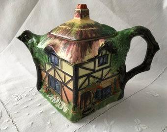 Art Deco Royal WInton Grimwades Old English Teapot Pre war
