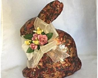 Handmade Decoupage Bunny