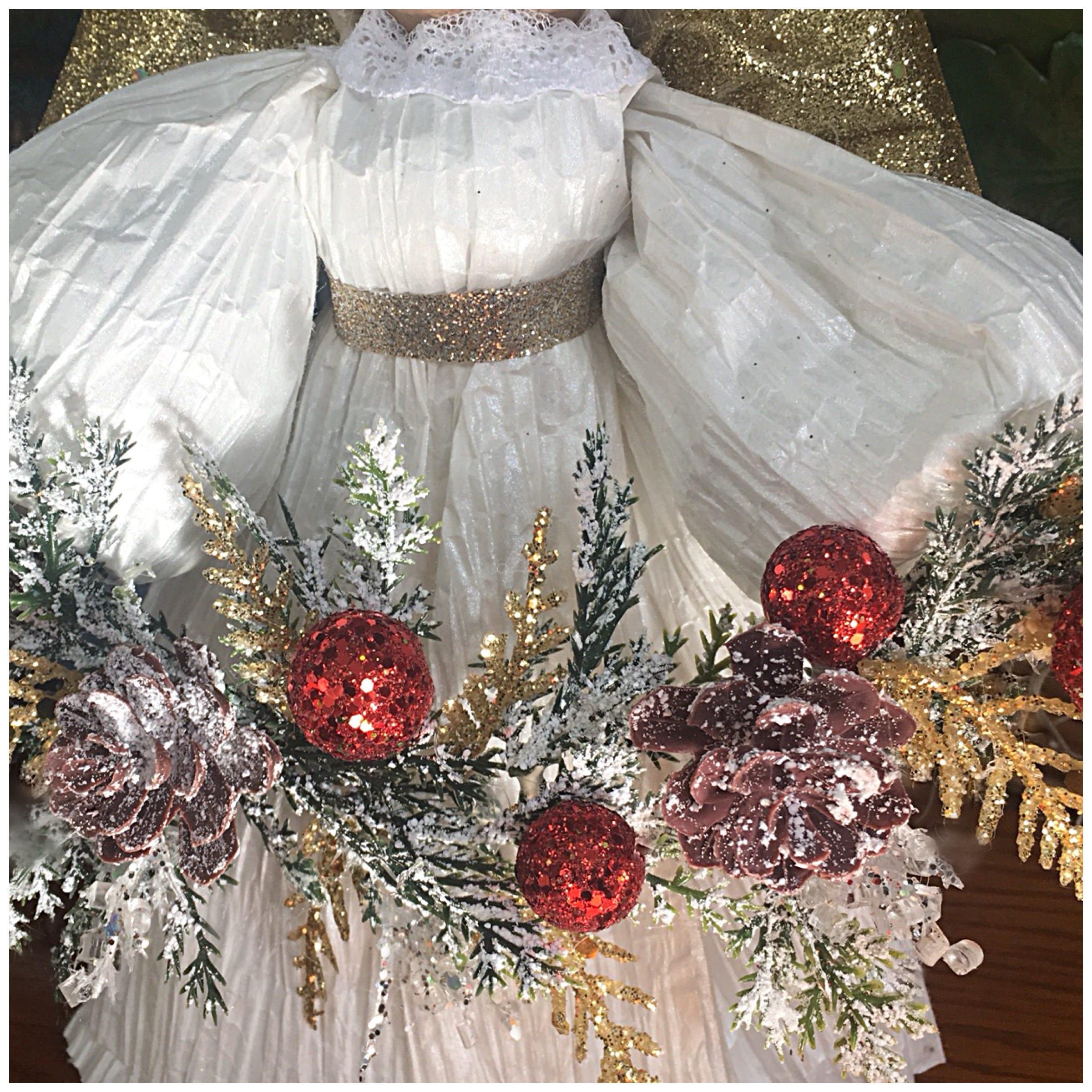 christmas angel handmade angel angel decor christmas decorations