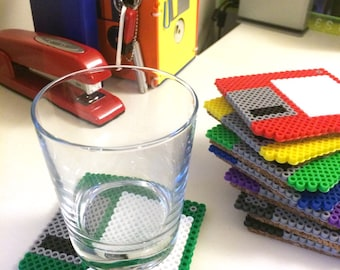 Floppy Disc Coasters (Set of 4)