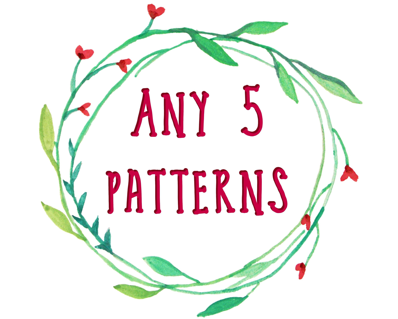 Paquete de patrones de costura patrón de PDF para niños ropa | Etsy