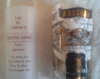 Barware- Choose: TORONTO or ARIZONA glasses