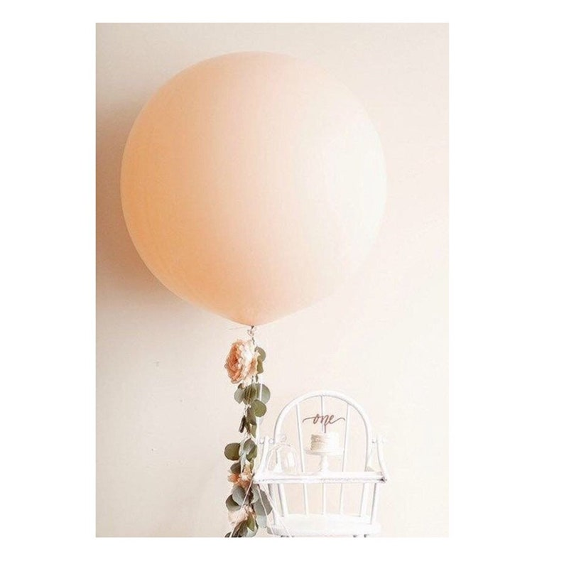 36 nude Latex Balloon Giant OutdoorIndoor Blush Balloon Big Wedding Beige Creme Off White Shower PArty 91 cm peach Latex Balloon