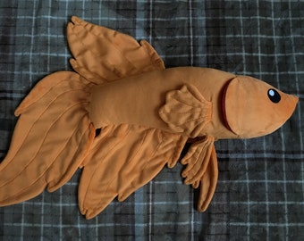 Betta Fish Plush Etsy