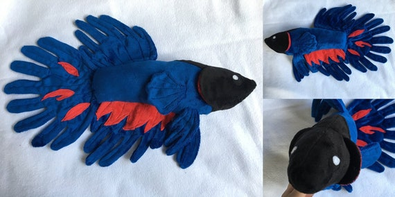 Custom Betta Fish Plush Etsy