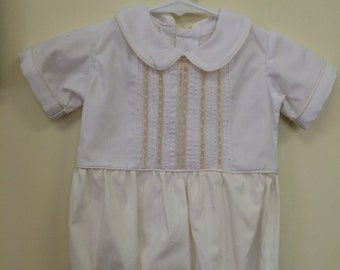 d906f297c Heirloom Baby Boy Bubble with no Lace