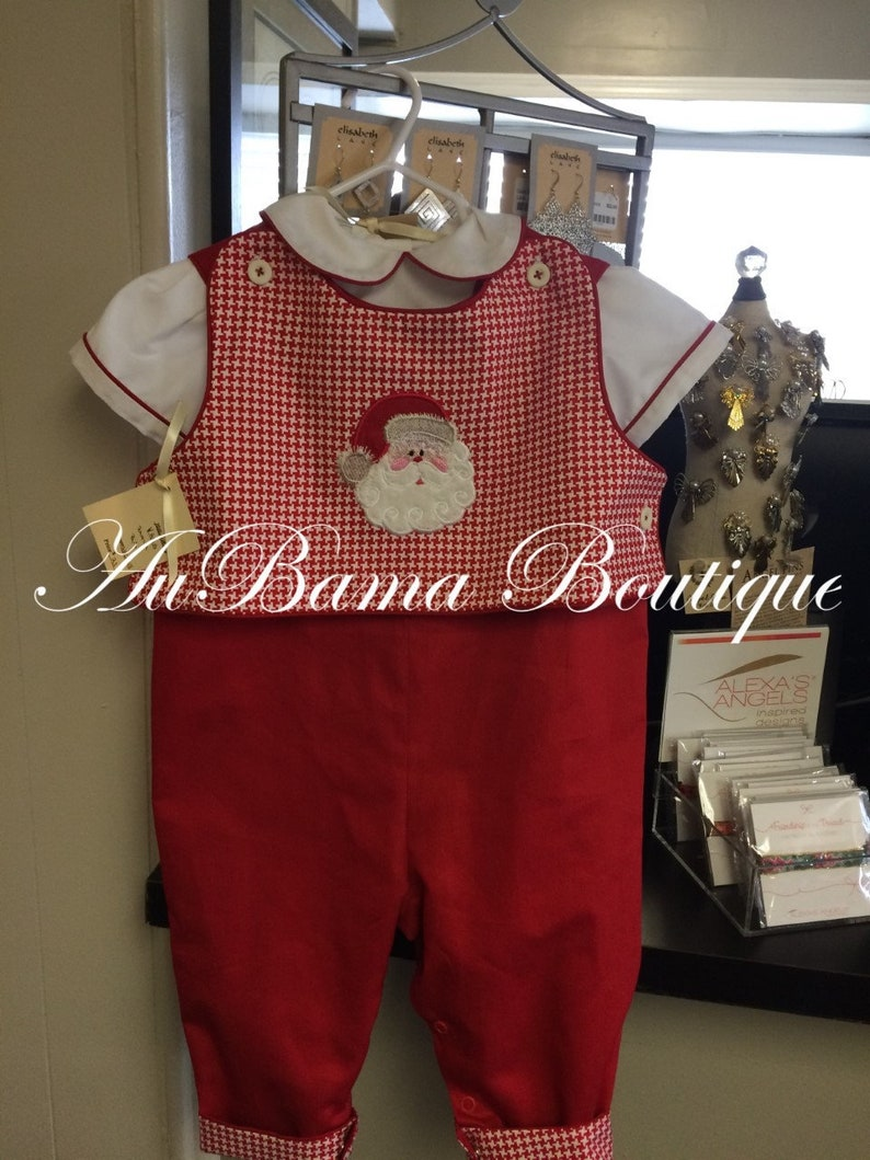LongAll with Removable Santa Bib in Girl or Boy version