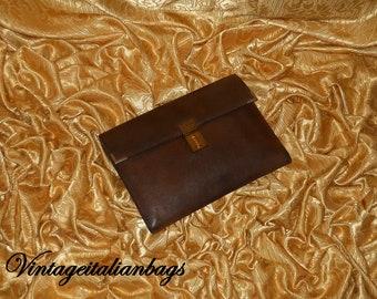 0e011d5f9e31 Genuine vintage Gucci briefcase - vera pelle