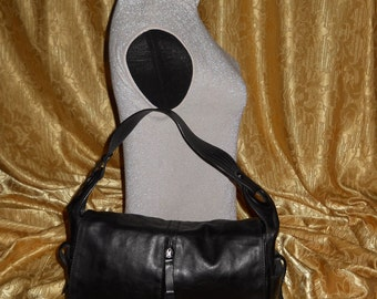 274c41bf9e326c Echte Vintage Francesco Biasia Tasche - Leder